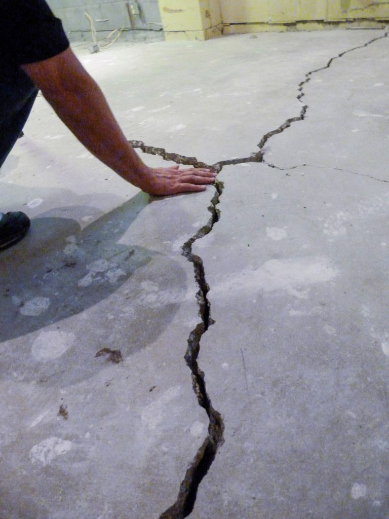 Is There Cracks In Your Slab True Level Concrete