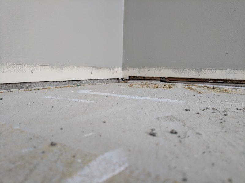 Concrete closeup indoor