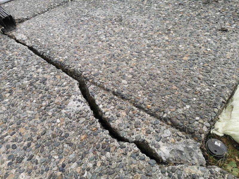 Concrete crack image 2