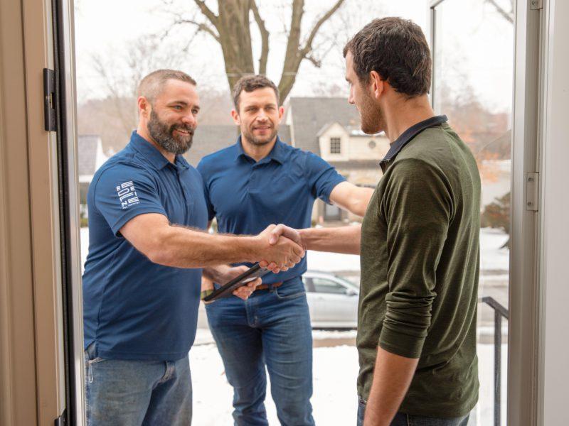 True Level Concrete Client Handshake
